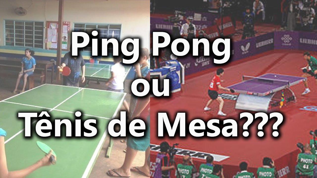 Ping pong ou t nis de mesa qual a diferen a youtube for Mesa ping pong carrefour