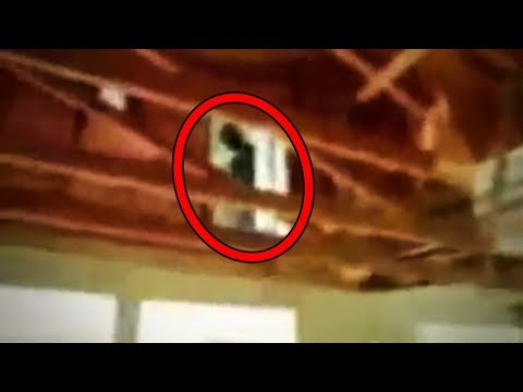 11 SCARY Ghost Sightings Caught On Tape In Abandoned Places