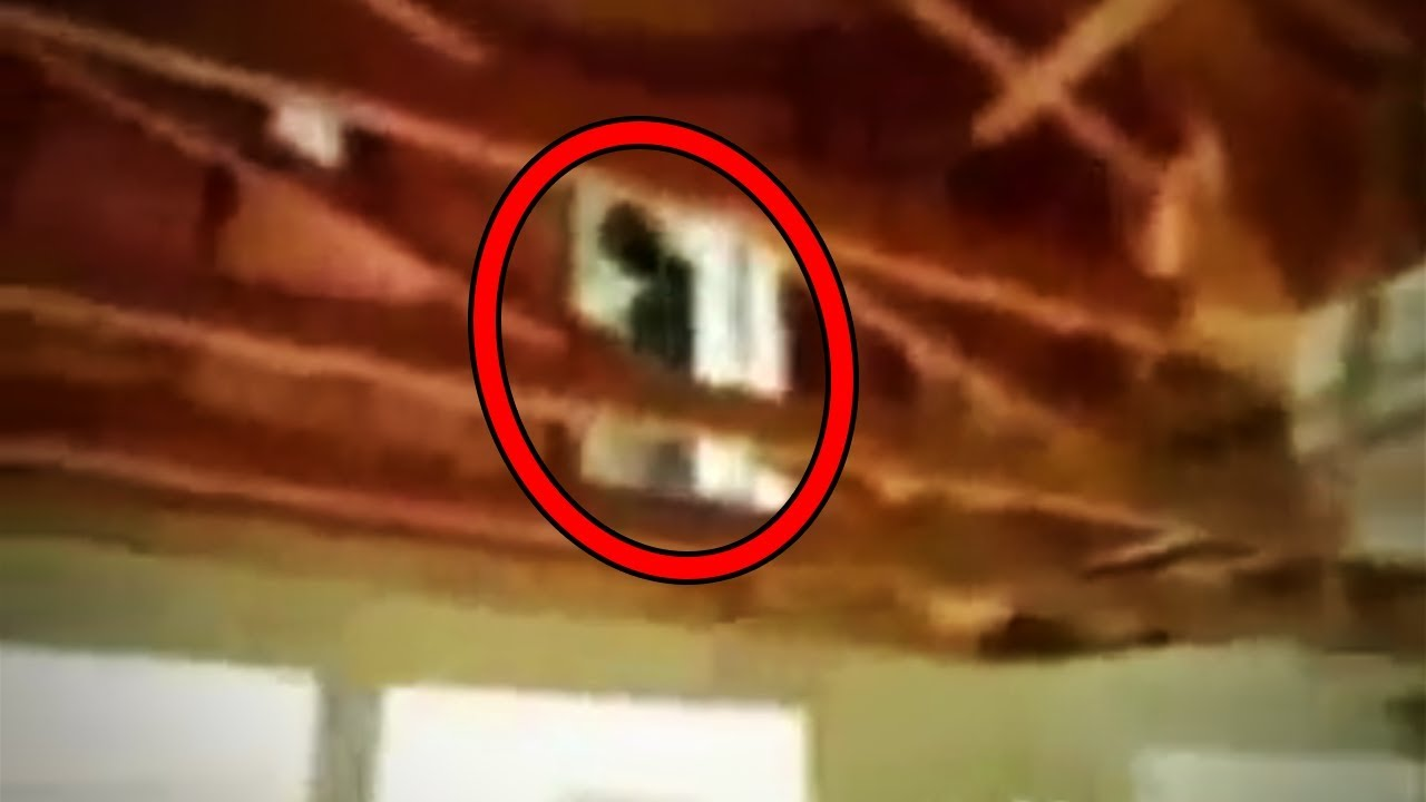 11 SCARY Ghost Sightings Caught on Tape in Abandoned Places - YouTube