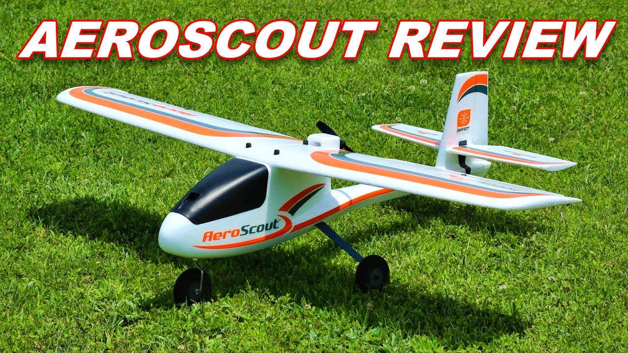 BEST Beginner RC Plane 2019 - AeroScout S 1 1m RTF Airplane - TheRcSaylors