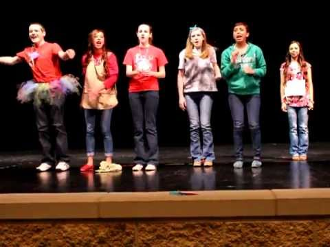 If I Were Not Upon the Stage Skit--District 18 Student Council Spring Convention