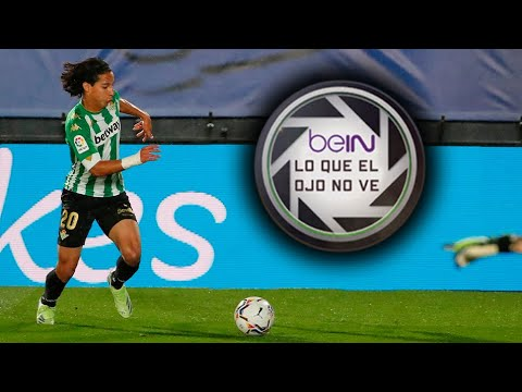 Lo que el ojo no ve: Diego Lainez frente al Real Madrid