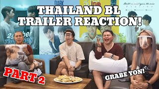 THAILAND BL TRAILER REACTION VIDEO (PART 2) | BECKY NIGHTS