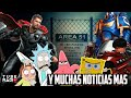 Tube Radio: Confirman Thor 4,  Gossip Girl volverá, Invasión Área 51, doblaje mexicano en problemas