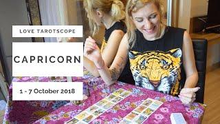 CAPRICORN 1-7th OCTOBER love tarot reading -