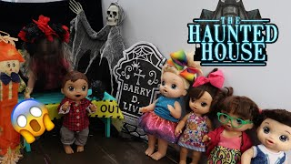 BABY ALIVES Go To A Haunted House  baby alive videos