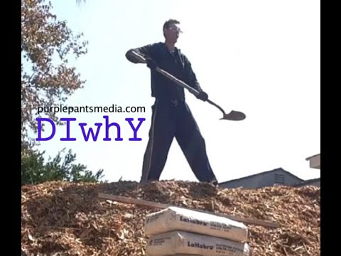 DIWhy Guy how to use a shovel
