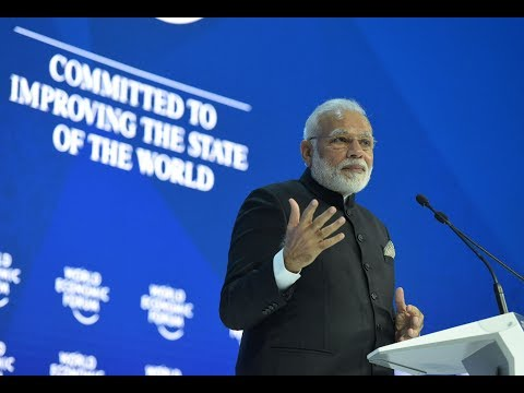 PM Shri Narendra Modi's speech at World Economic Forum Plenary, Davos.