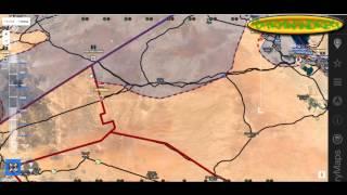 Обзор карты боевых действий в Сирии за 18. 10. 2015 год