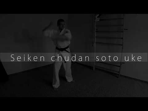 Seiken Chudan Soto Uke - Kyokushin Orange Belt 9th kyu block