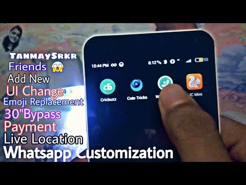 Whatsapp Customization 🤔 WA Tweaks