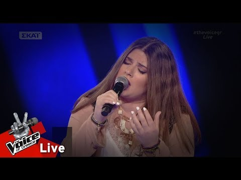 Κωνσταντίνα Κατσογιάννη - Όλα σε θυμίζουν | 2o Live | The Voice of Greece