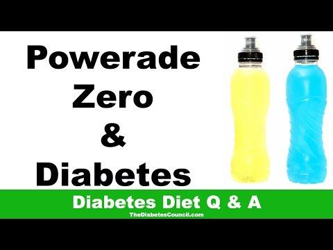 Is Powerade Zero Good For Diabetes