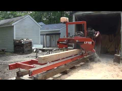 Reviewing the Woodmizer LT15, and cutting 2x4s out of that