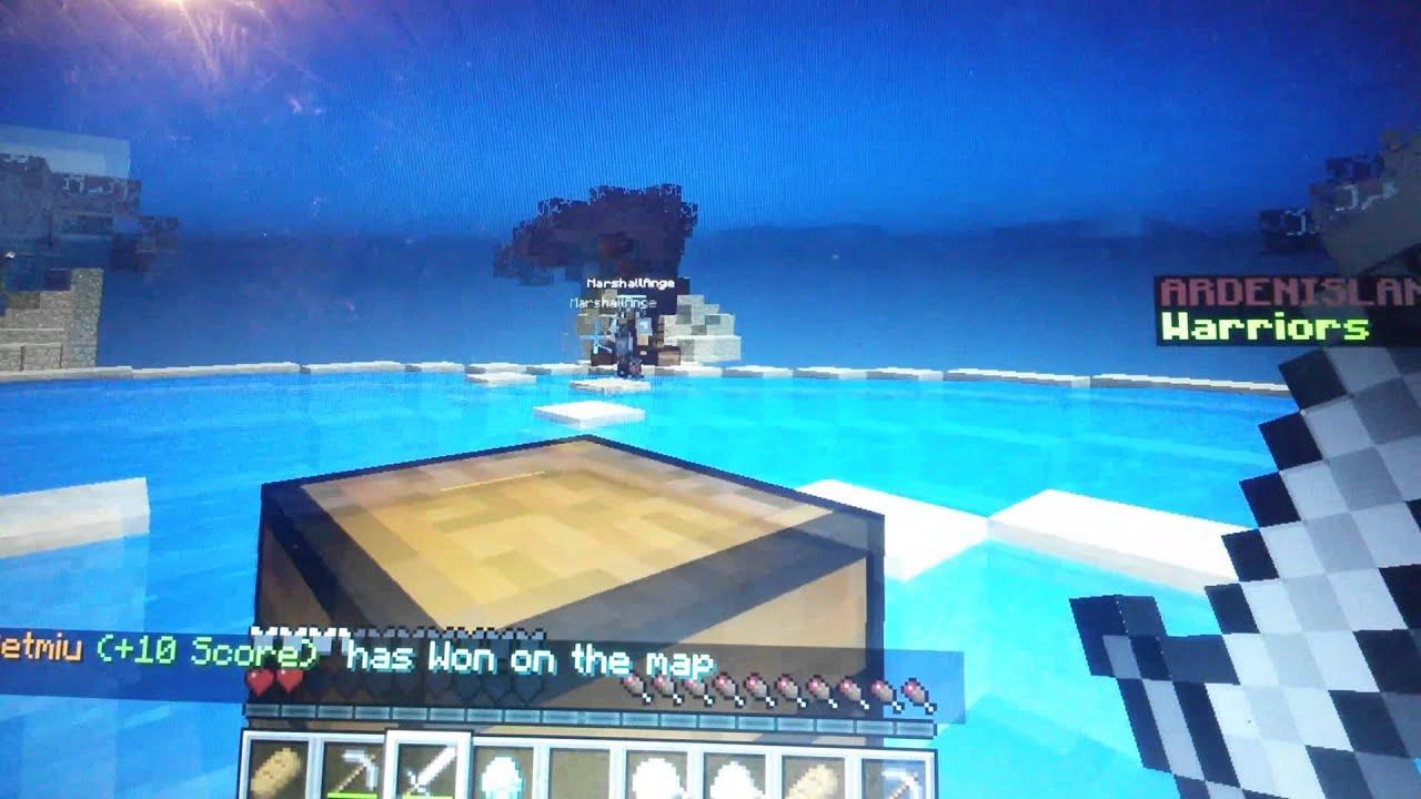Minecraft -No Server - Sky wars - YouTube