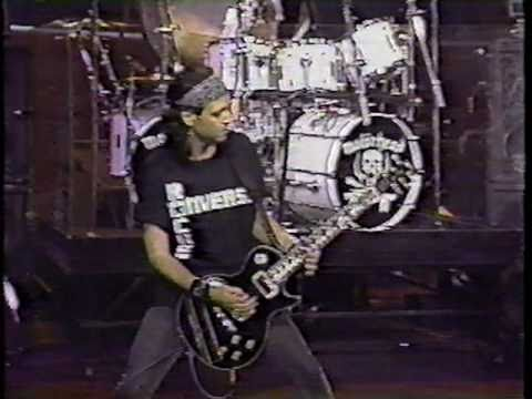 Motorhead - Going To Brazil live - Tonight Show 1992