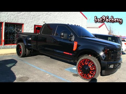 2017 ford f 350 super duty 4x4 lariat crew cab dually tuning by mad. Black Bedroom Furniture Sets. Home Design Ideas