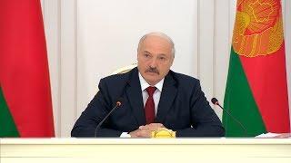 Лукашенко: власть должна проникнуться чувством, что каждый человек должен иметь возможность работать