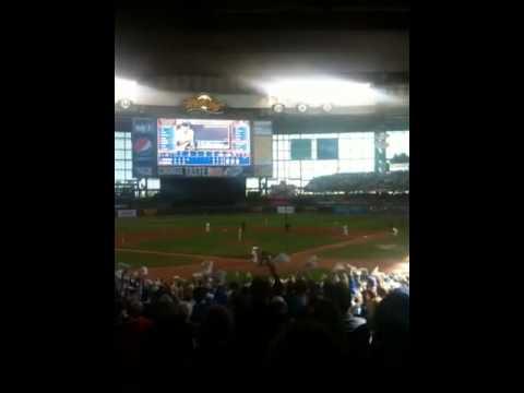 Brewers Diamondbacks NLDS 2011 Game 1