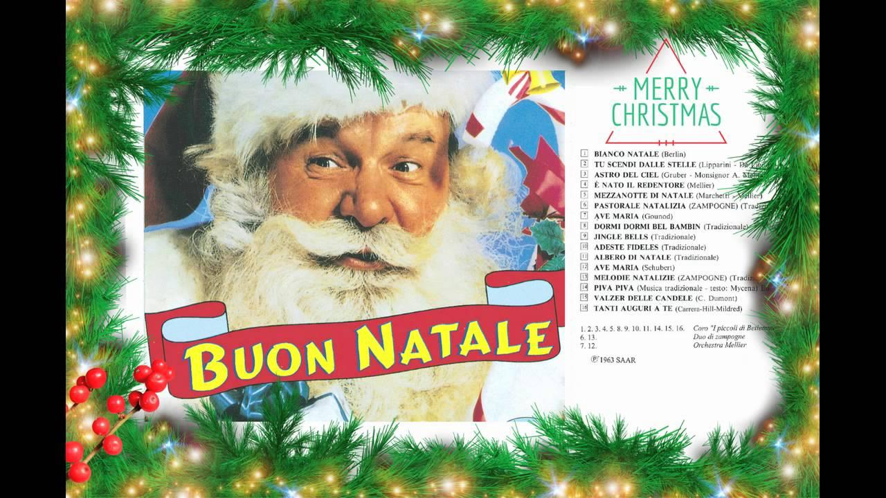 Buon Natale Del C Testo.Buon Natale Merry Christmas Youtube