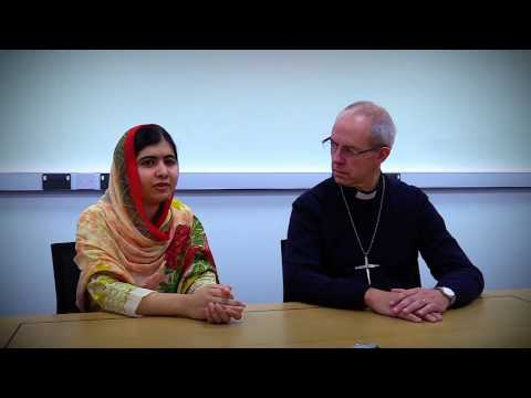 Exclusive interview: Malala and the Archibishop of Canterbury meet for the first time