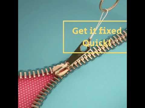 Broken zipper advert