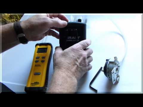 How to calibrate an adjustable pressure switch using the DDSM1 and the SDMN5 - High Res