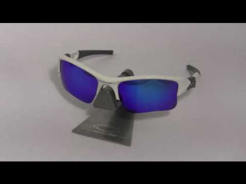 972020f9670 VL Ice Blue Polarized Lenses Fit Oakley Flak Jacket XLJ - YouTube