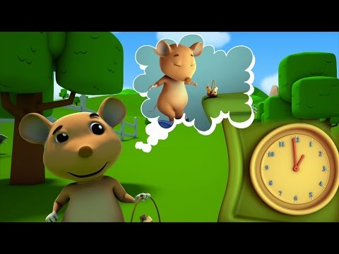 Hickory Dickory dermaga | sajak untuk balita | Poerty For Kids | Nursery Song | Hickory Dickory Dock