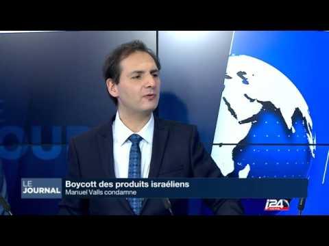 M. Valls Condamne Le Boycottage D'Israël