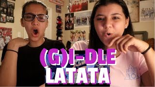 (G)I-DLE ((여자)아이들) 'LATATA' MV REACTION!!!