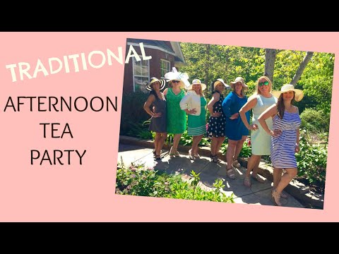 Afternoon Tea Party | April 2016