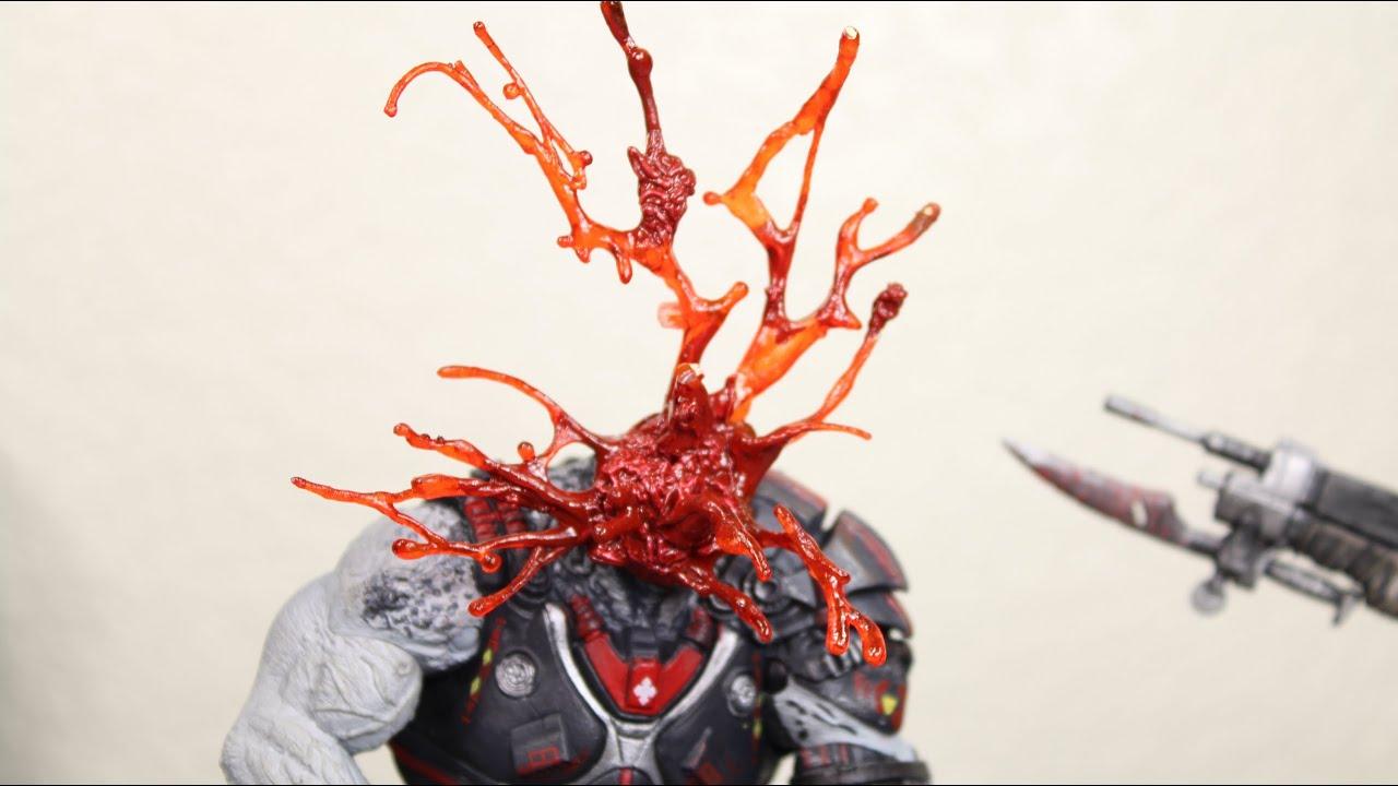 Gears Of War Headshot Locust Drone NECA Video Game Action