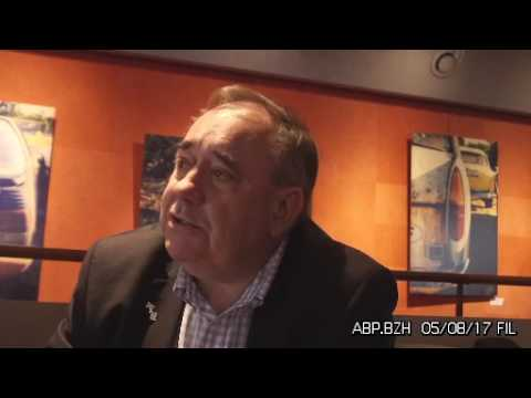 ABP interviews Alex Salmond former First Minister of Scotland