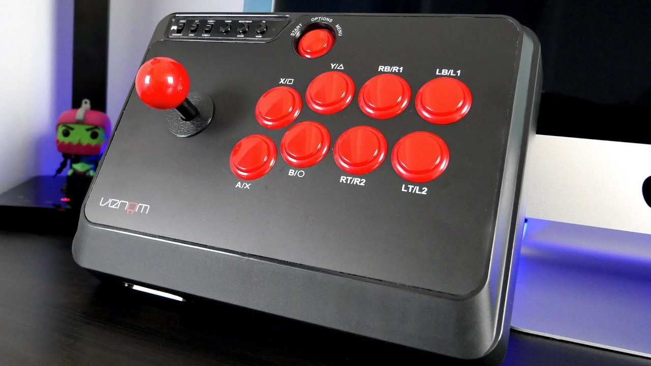 Venom Arcade Fight Stick For Xbox One, PS4, PC and More!