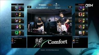 LZ vs CJ Game 2 Highlights - LONGZHU IM vs CJ ENTUS - Week 12 LCK Champions Korea Summer 2015