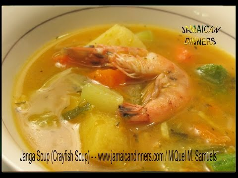 JANGA SOUP RIVER SHRIMPS OR CRAYFISH Recipe