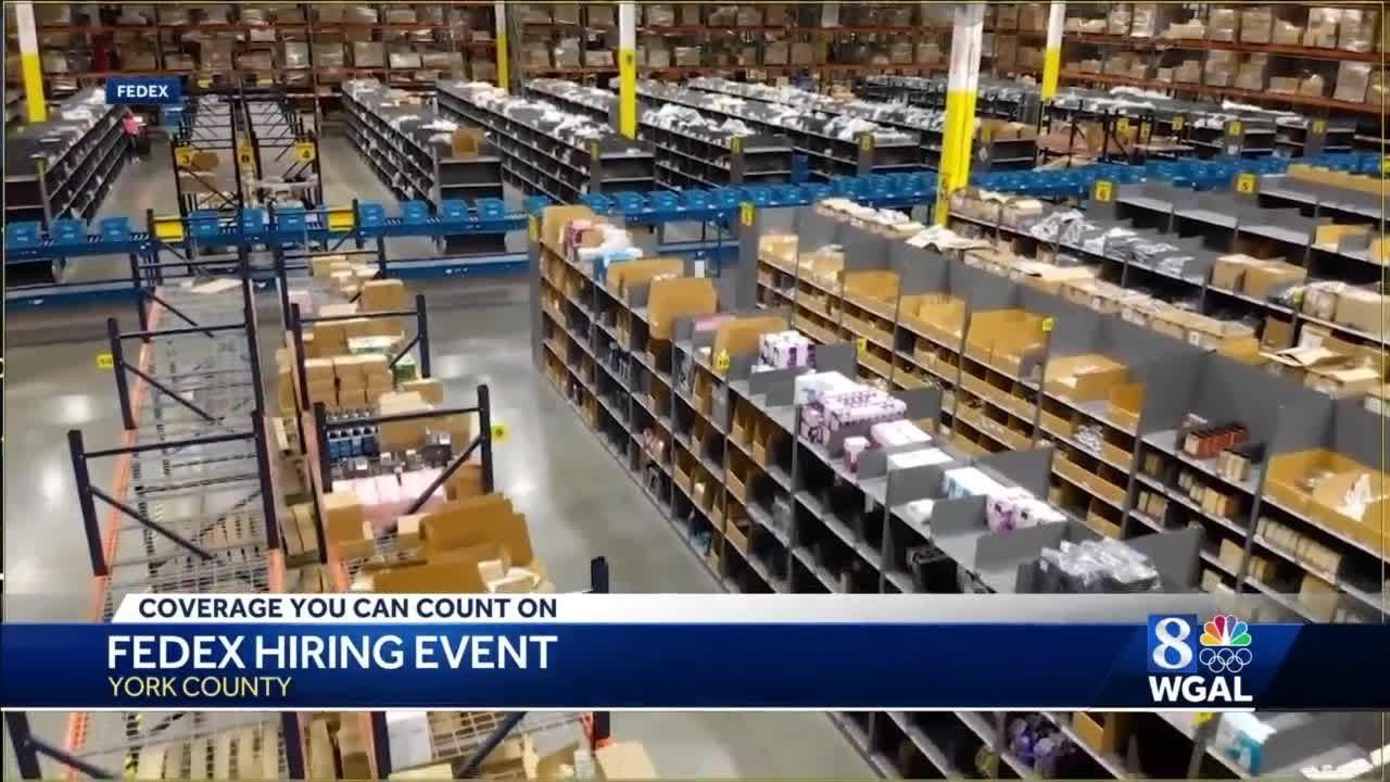 FedEx Supply Chain looks to hire 115 at job fair