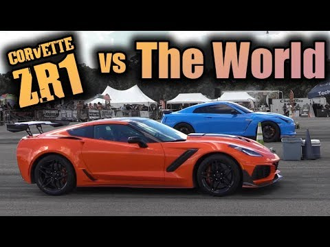 C7 Corvette ZR1 vs The World (Half Mile)