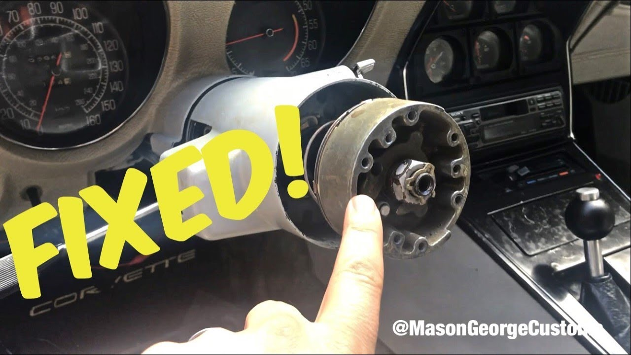 1977 Corvette C3 Steering Column & Turn Signal Switch Part 2