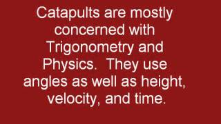 Math In Catapults