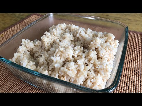 Brown Rice | Hand Pound Rice | Dampudu Annam | Indian Cuisine | Radhika's Food | Healthful Cooking