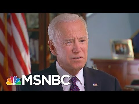 Part 1: Joe Biden Having 'Enormous Difficulty' Understanding Donald Trump\'s White House | MSNBC