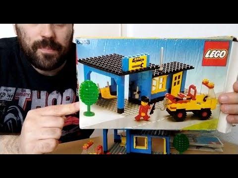 Heti videó: 03# Vintage Lego sorozat 3.rész - 6363 Auto Service Station