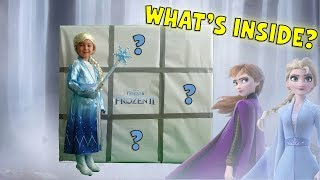 FROZEN 2 Giant Smash BOXES with SURPRISE TOYS for Kids