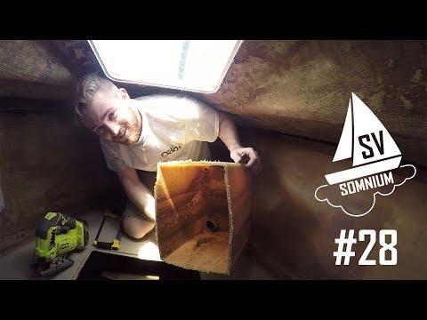 We Cut Our Holding Tank In Half! - Sailing Vessel Somnium Ep. 28