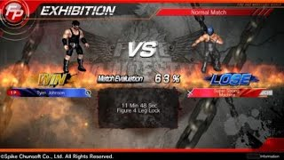 FIRE PRO WRESTLING WORLD: Tyler Johnson vs Super Strong Machine