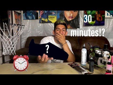 30-minute-custom-challenge-|-nike-cortez