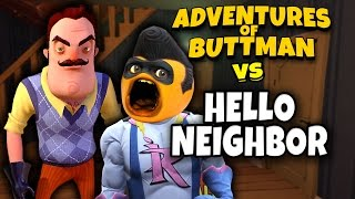 Adventures of Buttman #22: HELLO NEIGHBOR! (Annoying Orange GTA V)