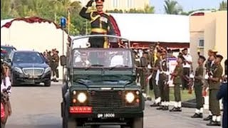Sarath Fonseka bestowed with Field Marshal title